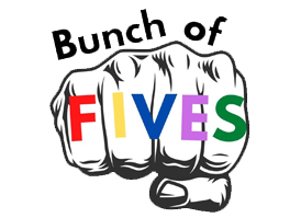 BUNCH OF FIVES (FREE!) @ Upper Lounge